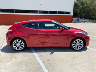2011 Hyundai Veloster FS Red 6 Speed Auto Active Select Hatchback.