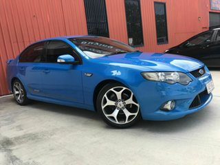 2010 Ford Falcon FG XR6 50th Anniversary Blue 6 Speed Sports Automatic Sedan.