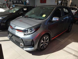 2020 Kia Picanto JA MY21 GT-Line Astro Grey 4 Speed Automatic Hatchback.