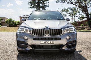 2015 BMW X5 F15 M50D Arctic Grey 8 Speed Sports Automatic Wagon.