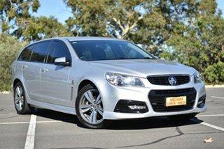 2014 Holden Commodore VF MY14 SV6 Sportwagon Silver 6 Speed Sports Automatic Wagon.