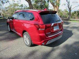 2020 Mitsubishi Outlander ZL MY20 PHEV AWD ES ADAS Diamond Red 1 Speed Automatic Wagon Hybrid