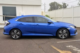 2018 Honda Civic 10th Gen MY18 VTi-LX Blue 1 Speed Constant Variable Hatchback.