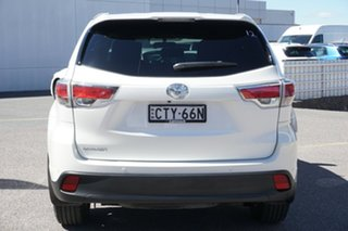 2014 Toyota Kluger GSU50R GXL 2WD White 6 Speed Sports Automatic Wagon