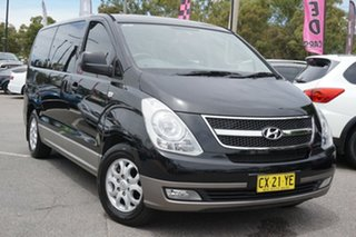2014 Hyundai iMAX TQ-W MY13 Black 4 Speed Automatic Wagon.