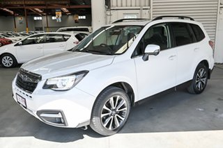 2017 Subaru Forester S4 MY18 2.5i-S CVT AWD White 6 Speed Constant Variable Wagon