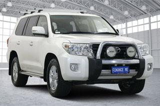 2013 Toyota Landcruiser VDJ200R MY13 Altitude White 6 Speed Sports Automatic Wagon.