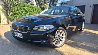 2010 BMW 5 Series F10 MY11 528i Steptronic Black Sapphire 8 Speed Sports Automatic Sedan