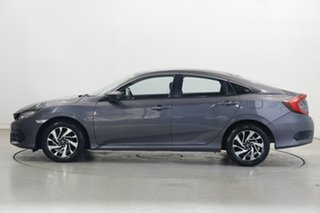 2018 Honda Civic 10th Gen MY18 VTi-S Luxe Grey 1 Speed Constant Variable Sedan.