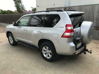 2017 Toyota Landcruiser Prado Prado GXL 2.8L T Diesel Automatic Wagon Silver Automatic Wagon