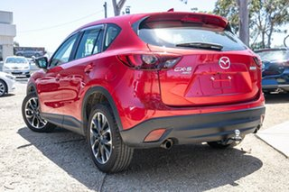 2016 Mazda CX-5 KE1032 Akera SKYACTIV-Drive i-ACTIV AWD Red 6 Speed Sports Automatic Wagon.