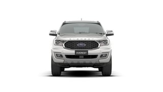 2020 Ford Everest UA II 2021.25MY Titanium Alabaster White 10 Speed Sports Automatic SUV.