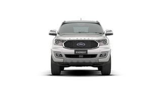 2020 Ford Everest UA II 2021.25MY Titanium White 10 Speed Sports Automatic SUV.