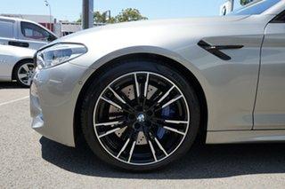 2018 BMW M5 F90 Competition Donington Grey 8 Speed Automatic Sedan.