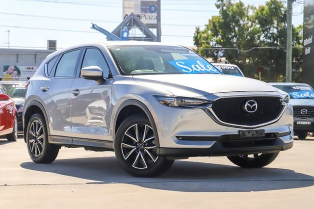 Used Mazda CX-5 KF4WLA GT SKYACTIV-Drive i-ACTIV AWD Kirrawee, 2017 Mazda CX-5 KF4WLA GT SKYACTIV-Drive i-ACTIV AWD Silver 6 Speed Sports Automatic Wagon