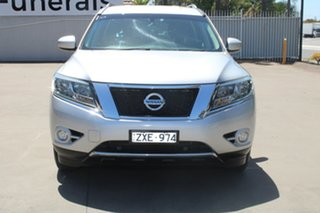 2013 Nissan Pathfinder R52 ST (4x2) Silver Continuous Variable Wagon.