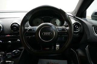2016 Audi S3 8V MY16 Sportback S Tronic Quattro Daytona Grey 6 Speed Sports Automatic Dual Clutch