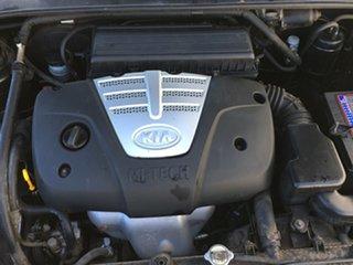 2003 Kia Rio MY03 LS Black 5 Speed Manual Sedan