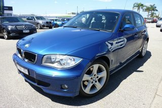 2005 BMW 1 Series E87 120i Blue 6 Speed Automatic Hatchback.