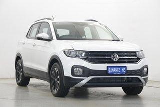 2020 Volkswagen T-Cross C1 MY20 85TSI DSG FWD Life White 7 Speed Sports Automatic Dual Clutch Wagon.