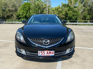 2008 Mazda 6 GH Luxury Sports Black 5 Speed Auto Activematic Hatchback