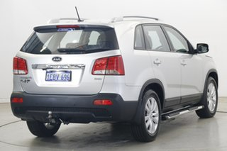 2012 Kia Sorento XM MY12 SLi Global Circuit Bright Silver 6 Speed Sports Automatic Wagon