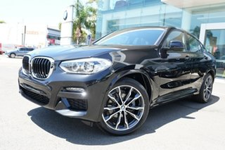 2019 BMW X4 G02 xDrive20i M Sport Black Sapphire 8 Speed Automatic Steptronic Wagon.