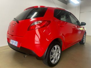 2012 Mazda 2 DE MY12 Neo Red 4 Speed Automatic Hatchback
