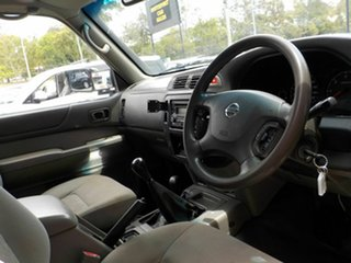 2013 Nissan Patrol Y61 Series 4 MY14 DX White 5 Speed Manual Cab Chassis