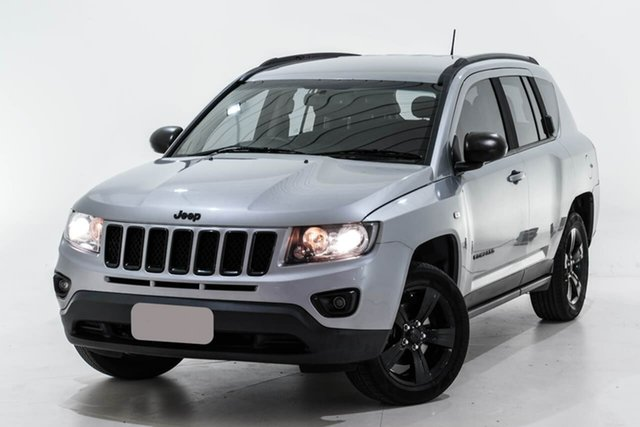 Used Jeep Compass MK MY14 Blackhawk CVT Auto Stick Berwick, 2014 Jeep Compass MK MY14 Blackhawk CVT Auto Stick Silver 6 Speed Constant Variable Wagon