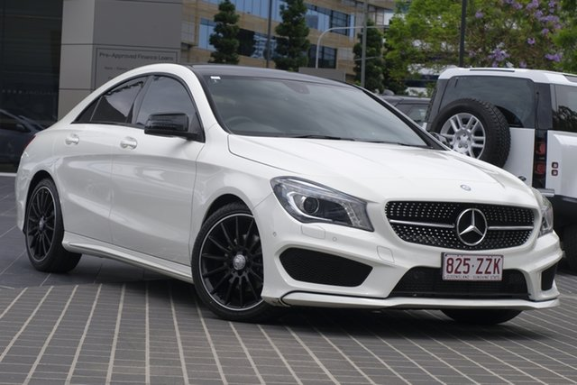 Used Mercedes-Benz CLA-Class C117 CLA200 DCT Newstead, 2013 Mercedes-Benz CLA-Class C117 CLA200 DCT White 7 Speed Sports Automatic Dual Clutch Coupe