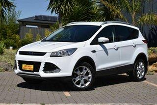 2015 Ford Kuga TF MY15 Trend PwrShift AWD White 6 Speed Sports Automatic Dual Clutch Wagon.