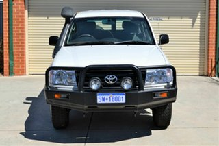 2006 Toyota Landcruiser HZJ105R Standard White 5 Speed Manual Wagon.