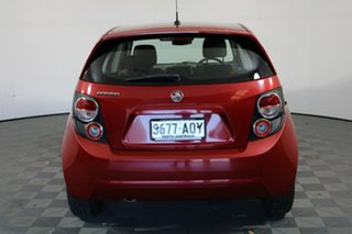 2012 Holden Barina TM Red 5 Speed Manual Hatchback