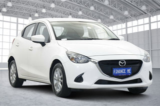 2016 Mazda 2 DJ2HA6 Maxx SKYACTIV-MT White 6 Speed Manual Hatchback.