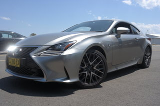 2016 Lexus RC GSC10R RC350 Sports Luxury Silver 8 Speed Sports Automatic Coupe.