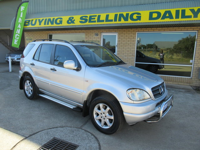 Used Mercedes-Benz M-Class W163 ML430 Luxury Mandurah, 1999 Mercedes-Benz M-Class W163 ML430 Luxury Silver 5 Speed Automatic Sedan