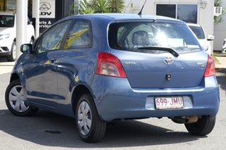 2006 Toyota Yaris NCP90R YR Greyish Blue Mica Metallic/ 4 Speed Automatic Hatchback.