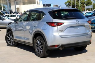 2017 Mazda CX-5 KF4WLA GT SKYACTIV-Drive i-ACTIV AWD Silver 6 Speed Sports Automatic Wagon.