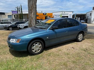 2003 Holden Commodore VY II Executive Blue 4 Speed Automatic Sedan.
