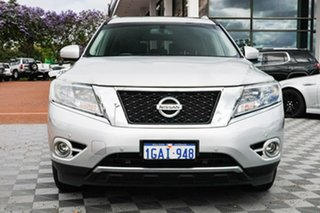 2016 Nissan Pathfinder R52 MY15 ST-L X-tronic 4WD Silver 1 Speed Constant Variable Wagon