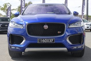 2016 Jaguar F-PACE X761 MY17 First Edition Caesium Blue/ 8 Speed Sports Automatic Wagon