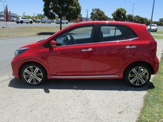 2019 Kia Picanto JA MY19 GT Red 5 Speed Manual Hatchback.