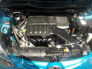 2011 Mazda 2 DE MY10 Neo Blue 4 Speed Automatic Hatchback