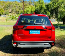 2020 Mitsubishi Outlander ZL MY20 ES 2WD Red Diamond 6 Speed Constant Variable Wagon