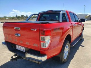 2017 Ford Ranger PX MkII XLT Double Cab Race Red 6 Speed Sports Automatic Utility.