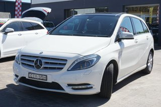 2012 Mercedes-Benz B-Class W246 B180 BlueEFFICIENCY DCT White 7 Speed Sports Automatic Dual Clutch.