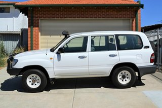 2006 Toyota Landcruiser HZJ105R Standard White 5 Speed Manual Wagon