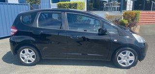 2008 Honda Jazz GE MY09 GLi Black 5 Speed Automatic Hatchback.