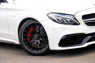 2017 Mercedes-Benz C-Class C205 807+057MY C63 AMG SPEEDSHIFT MCT S White 7 Speed Sports Automatic